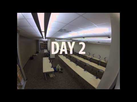AGATI Installation Timelapse - Kennesaw State University