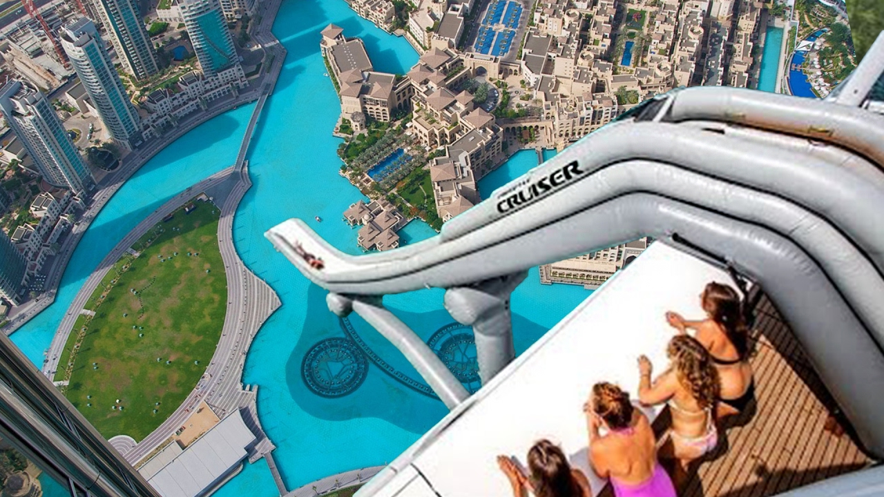 top 10 most insane homemade waterslides you wont believe exist