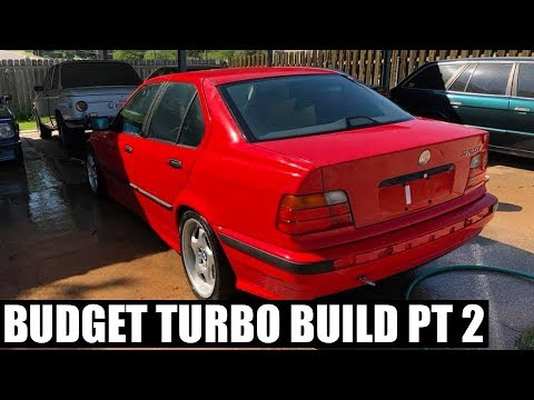 Budget turbo build E36 - auto to manual swap begins
