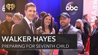 Walker Hayes Has 7 Kids! | CMA Red Carpet Interview