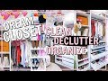 DREAM CLOSET MAKEOVER BEFORE & AFTER TOUR! CLEAN DECLUTTER ORGANIZE | Alexandra Beuter