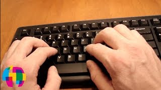Typing Tutorial: Keyboard Basics(A free online typing tutorial with tips to help speed up your efficiency when using the computer keyboard. Typing Course on Lynda.com: http://bit.ly/1ohuIxa How ..., 2012-09-28T04:30:53.000Z)
