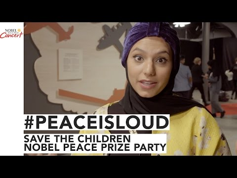 Save The Children Nobel Peace Prize Party - The 2016 Nobel Peace Prize Concert