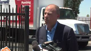 RAW: Attorney Michael Avenatti, lawyer of Stormy Daniels, holds press conference at Phoenix facility