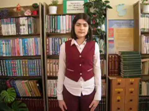 Изображение предпросмотра прочтения – СоняМаргарян читает произведение «На лугу.» А.А.Блока