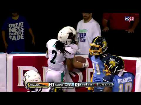 Week 15 Highlights: Arizona at Cedar Rapids