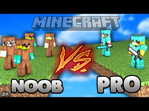 OHA İKİ PRO VS NOOBLAR! - Minecraft BED WARS