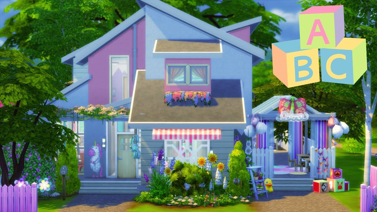 The Sims 4 House Building Blossom S Toddler Daycare