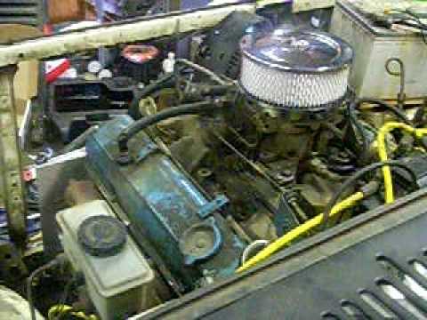 1988 Mazda B2200 with 350 SBC V8 - YouTube