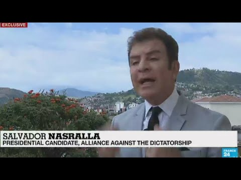 EXCLUSIVE - Interview with Honduras candidate Nasralla, contesting the election