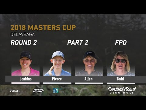 2018 Masters Cup FPO Rd. 2 Pt. 2 (Jenkins, Pierce, Allen, Todd)