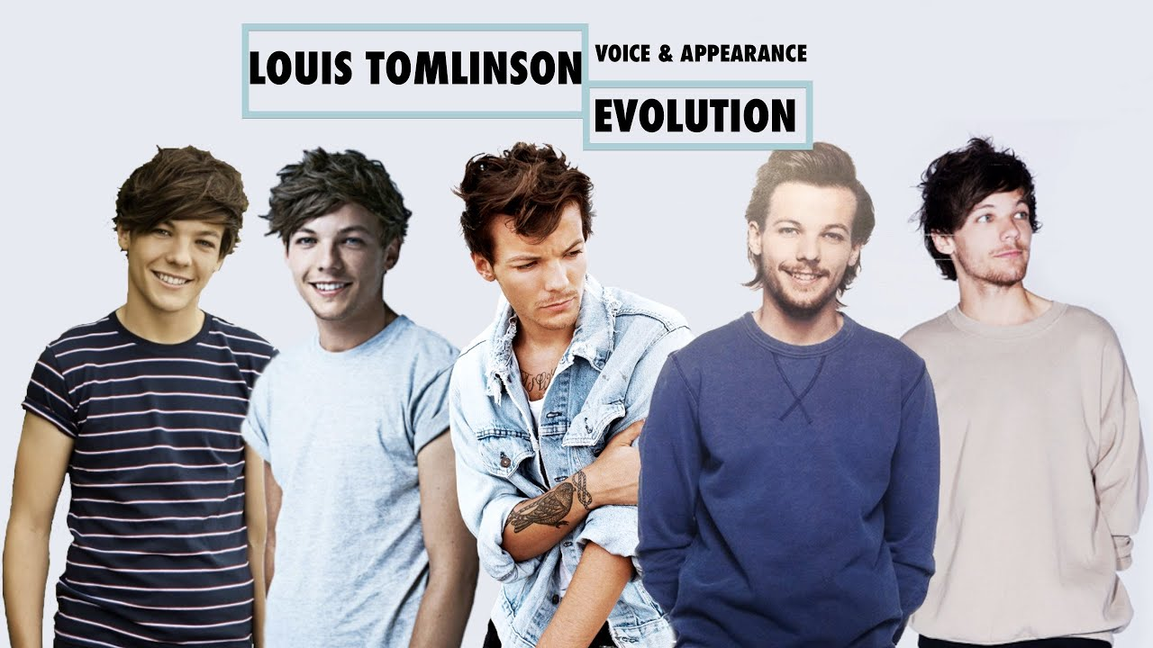 the ultimate louis tomlinson evolutionvoiceampappearance