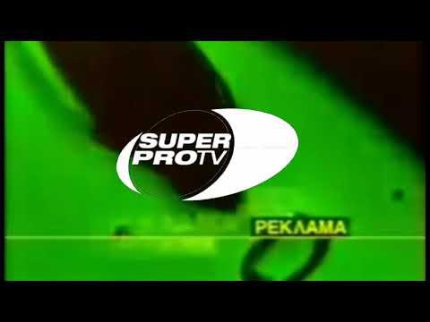 Две рекламные заставки SUPER PRO TV в стиле REN TV 1997 1999