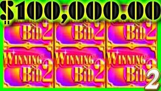 $100,000.00 In SLOT MACHINE WINS! 1/2 JACKPOT Wins 💰2💰 SDGuy1234