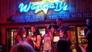 Kaitlyn Bristowe and Shawn Booth - Bachelorette 2016 Karaoke bar singing