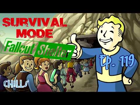 Fallout Shelter Survival Mode Ep 119 Crazy Vault And Reorganized! PC IOS Android Tips Tricks