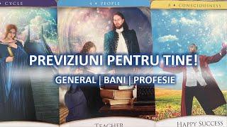 PREVIZIUNI pentru TINE: GENERAL & CARIERA & BANI! Tarot interactiv. Alege o carte. TaroTerap