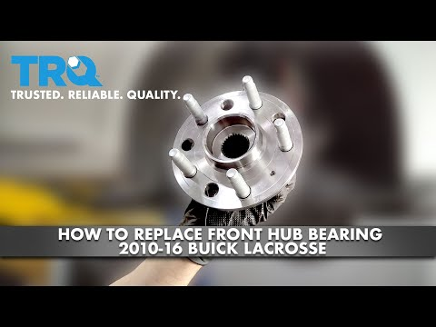 How To Replace Front Hub Bearing 2010-16 Buick LaCrosse