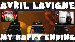 Avril Lavigne - My Happy Ending - Rock Band 4 DLC Expert Full Band (November 17th, 2016)