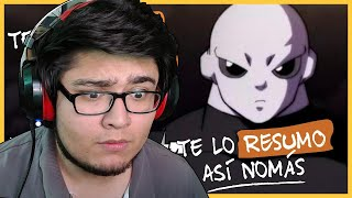 DRAGON BALL SUPER [TE LO RESUMO ASI NOMÁS] | GoDFreddY | Reacción