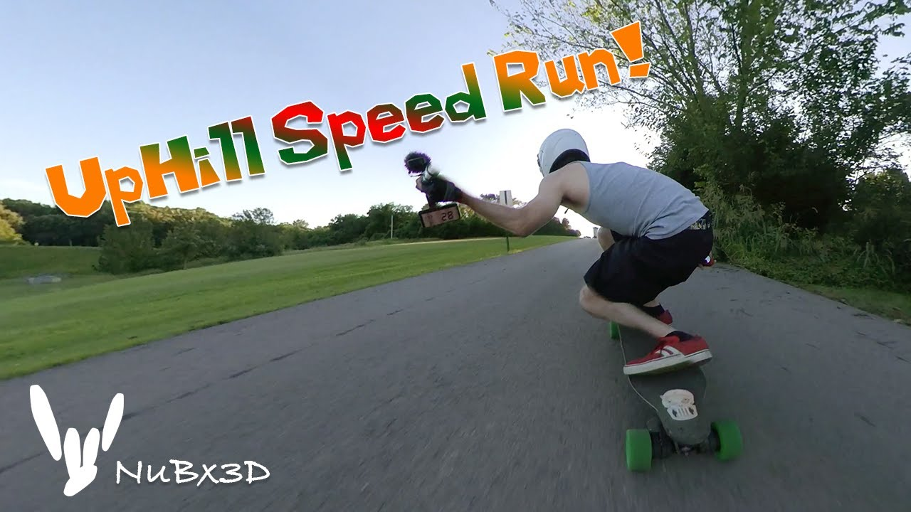 Boosted Board Stealth - NullBlox - Uphill Speed Run!