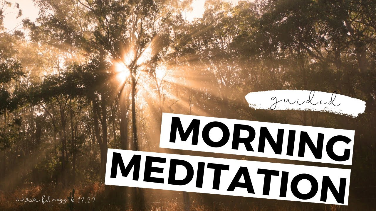 GUIDED MORNING MEDITATION | 6 minutes to start your day ...
