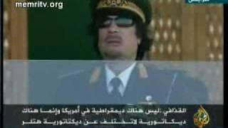 Gaddafi  Obama is a Muslim