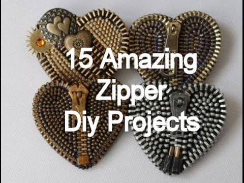 15 amazing zipper diy projects