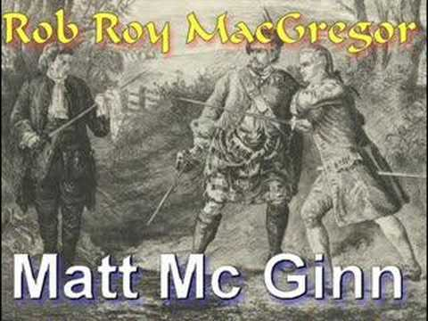 Matt McGinn: Rob Roy MacGregor