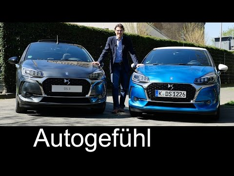 New DS3 hatch, cabriolet & Performance FULL REVIEW test driven - Citroen Premium brand