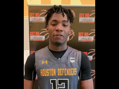 Valentin Catt (Houston Defenders/Oreangefield HS/Orange, TX) 2020 6'10 PF
