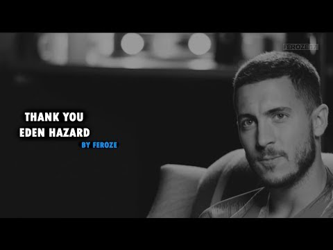 Thank You Eden Hazard by @feroze17