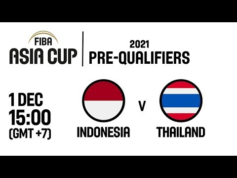 Indonesia v Thailand - Full Game - FIBA Asia Cup 2021 Pre