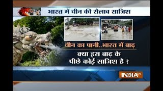 Is China behind India's flood fury