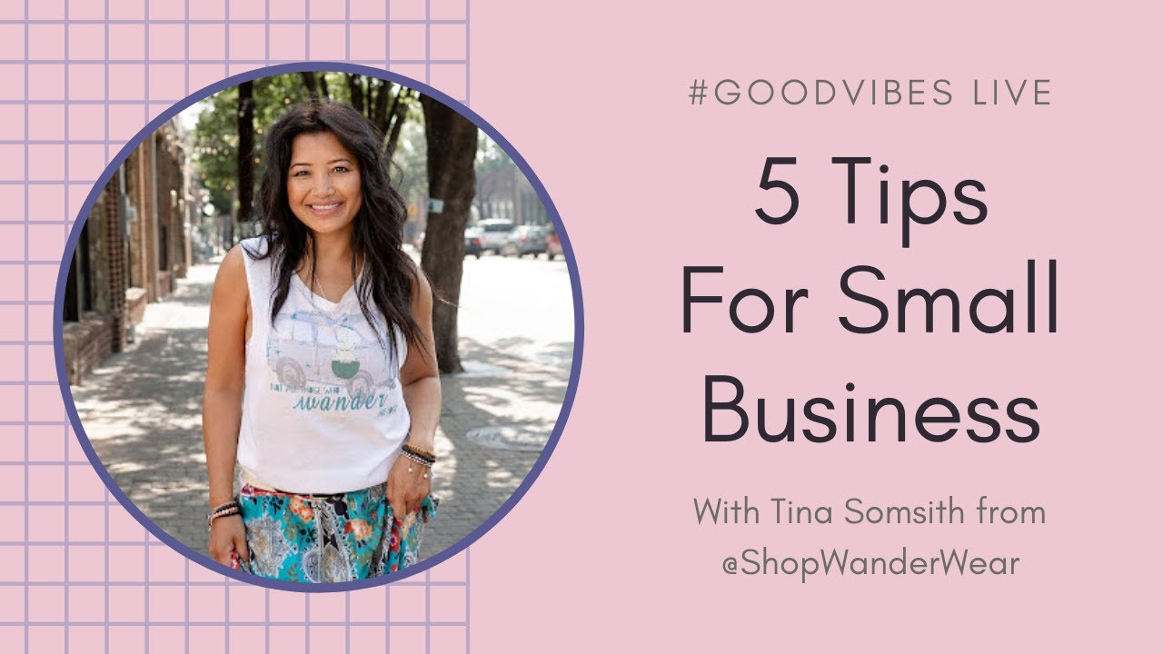 5 Small Business Tips: Working ON Your Biz, Not IN It