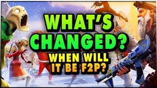 Fortnite Save The World - When Will It Be FREE TO PLAY & What's New? (Fortnite STW Gameplay)