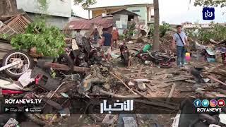 مشاهد مروعة للزلزال والتسونامي في إندونيسيا - (30-9-2018)