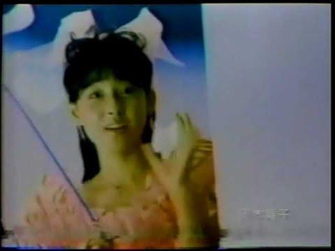 1985年CM 岡本舞子 グリコ タイガー THREE-M