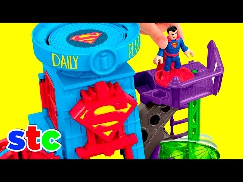 Fisher Price Imaginext DC Super Friends Superman Daily Planet
