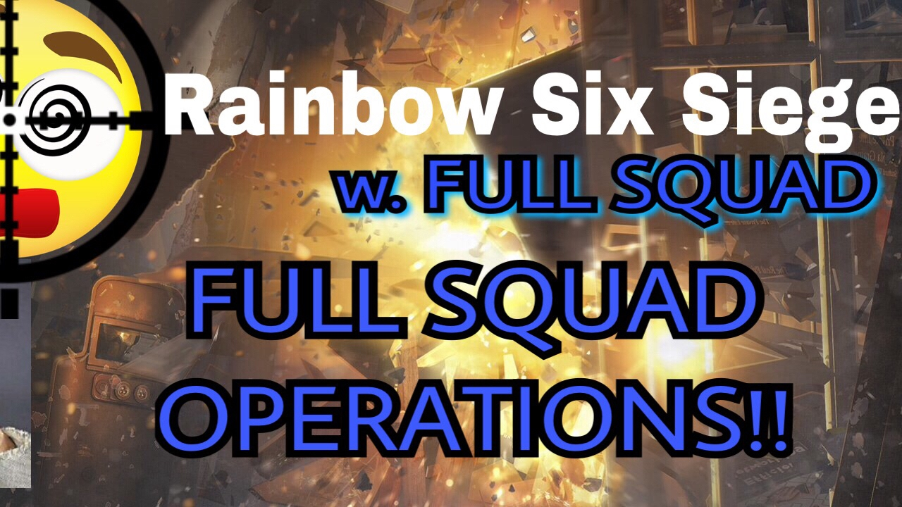 rainbow six siege multiplayer with a full squad random. Black Bedroom Furniture Sets. Home Design Ideas