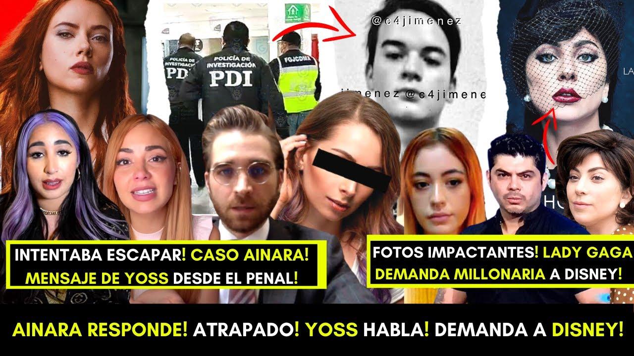 YØSS ROMPE EL SILENCIO! DETENIDO EN EL AEROPUERTO! ABOGADOS DE AINĄRA DAN COMUNICADO! DISNEY! GAGA!