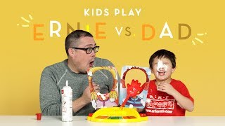 Ernie vs Dad Kids Play HiHo