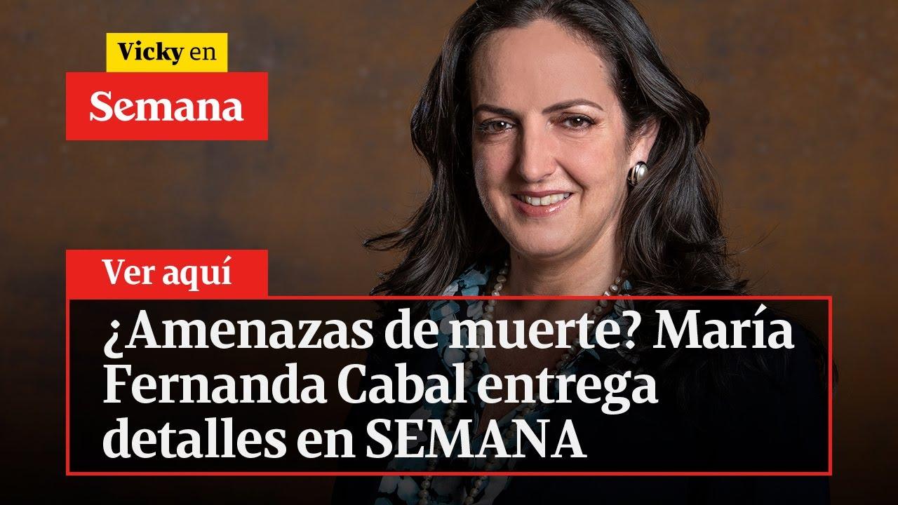 Download 🔴¿Amenazas de muerte? María Fernanda Cabal entrega detalles en SEMANA | Vicky en Semana