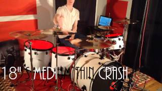 Zildjian S Family Performer Set Sound Test - KL Drums - Use Headphones For Best Audio