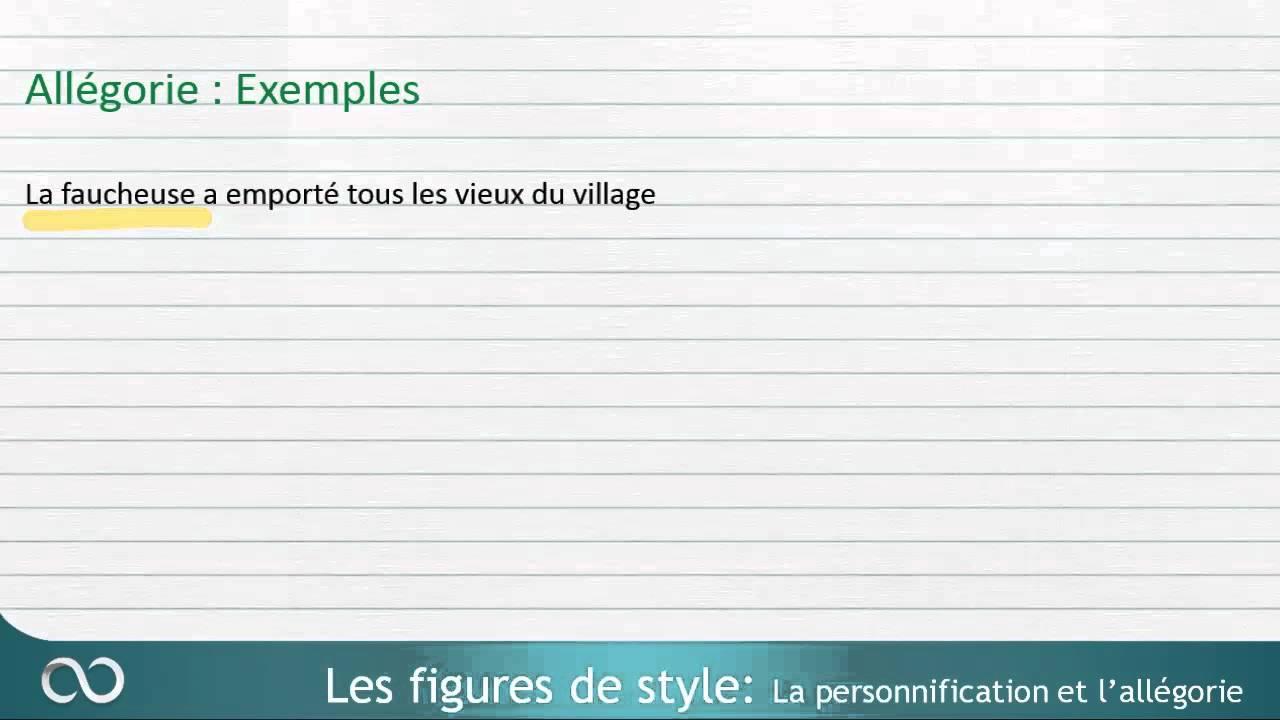 Exemple De Parallélisme Figure De Style - Le Meilleur Exemple