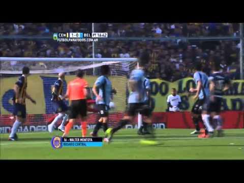 Rosario Central venció a Belgrano y se acercó a la punta