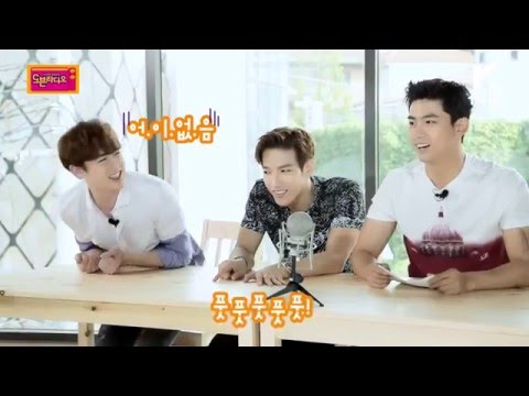 2PM blind test about their own songs