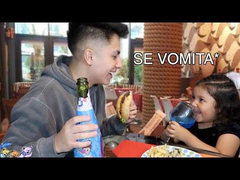 PREPARÉ UNA CENA ROMÁNTICA CON MI PRIMITA *de 4 años* - Marlon Villamil