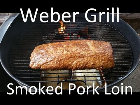 How to cook pork loin on a weber grill