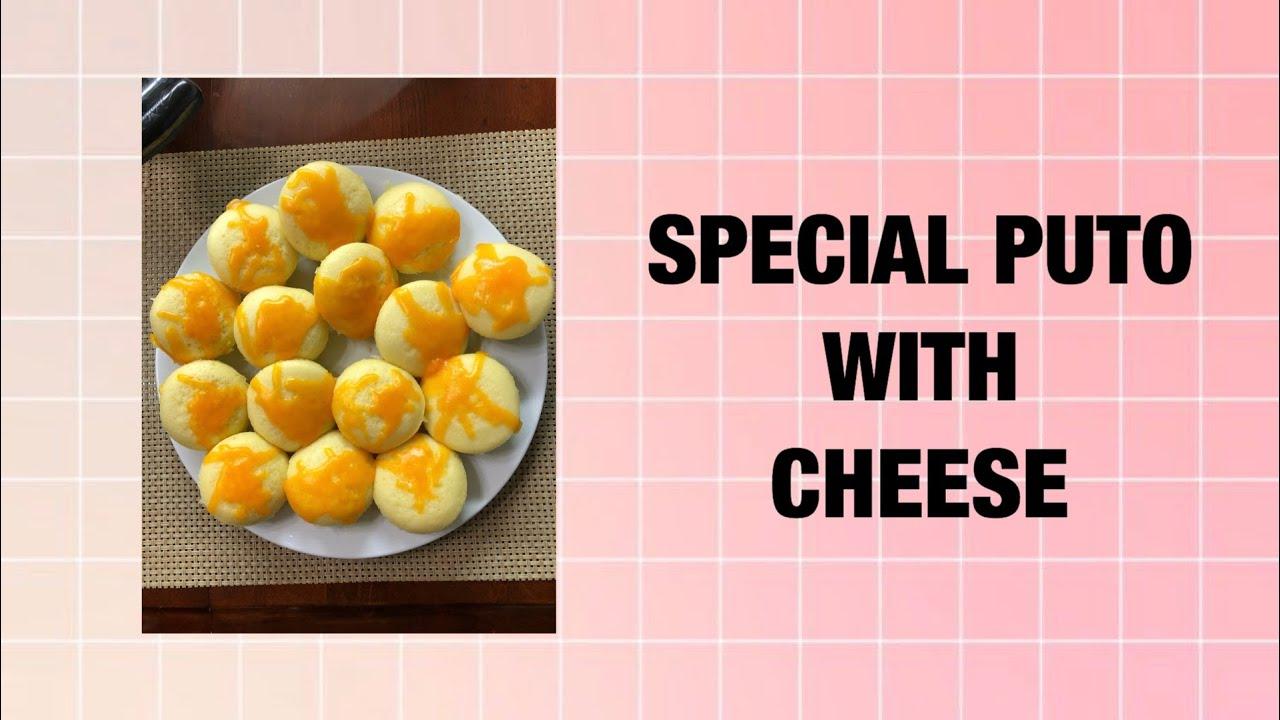 Special Puto with Cheese || Madiskarteng Mag Asawa
